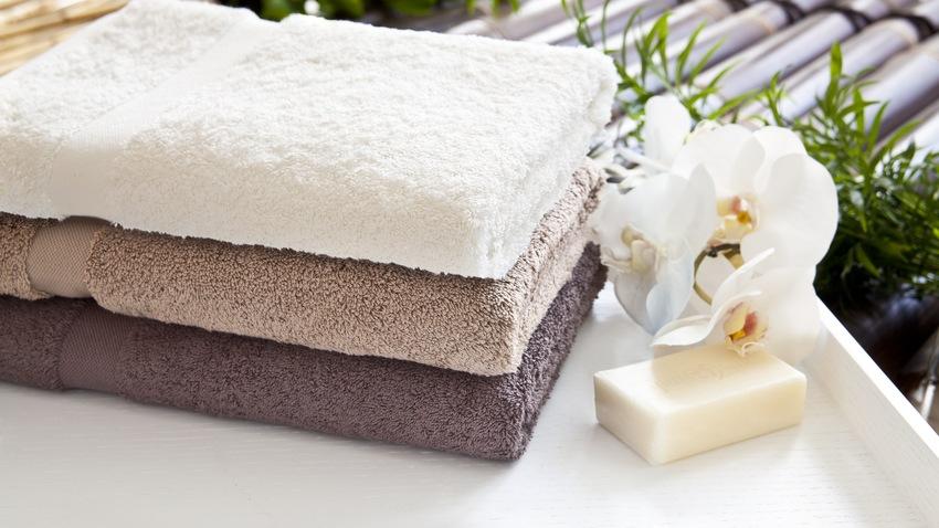 toallas de baño spa