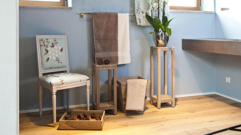 baños de madera suelo