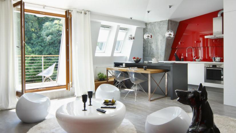 cocinas blancas modernas minimalistas