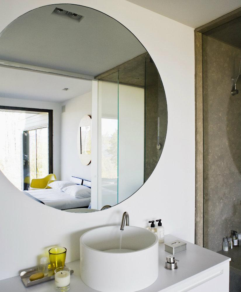 feng shui en el baño espejos