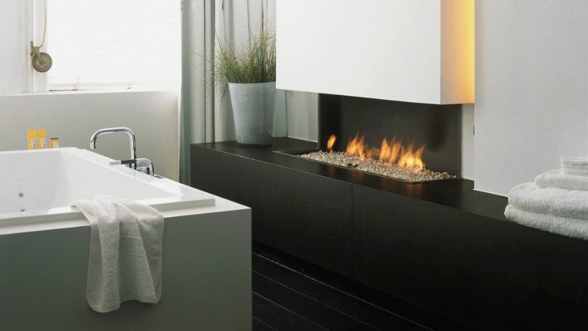 feng shui en el baño fuego