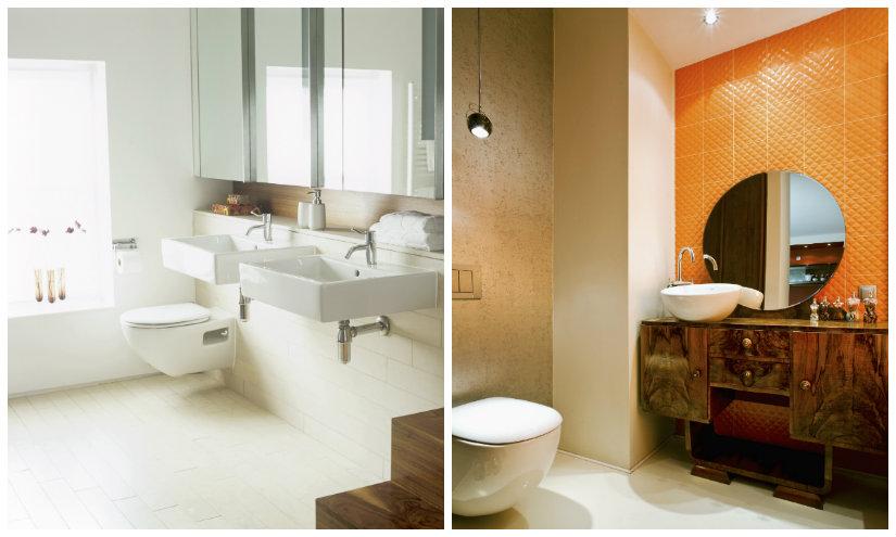 feng shui en el baño iluminación