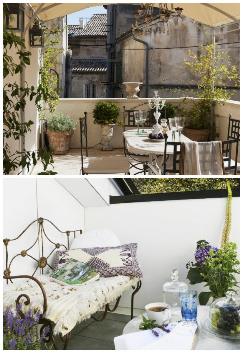 jardines en terrazas con encanto