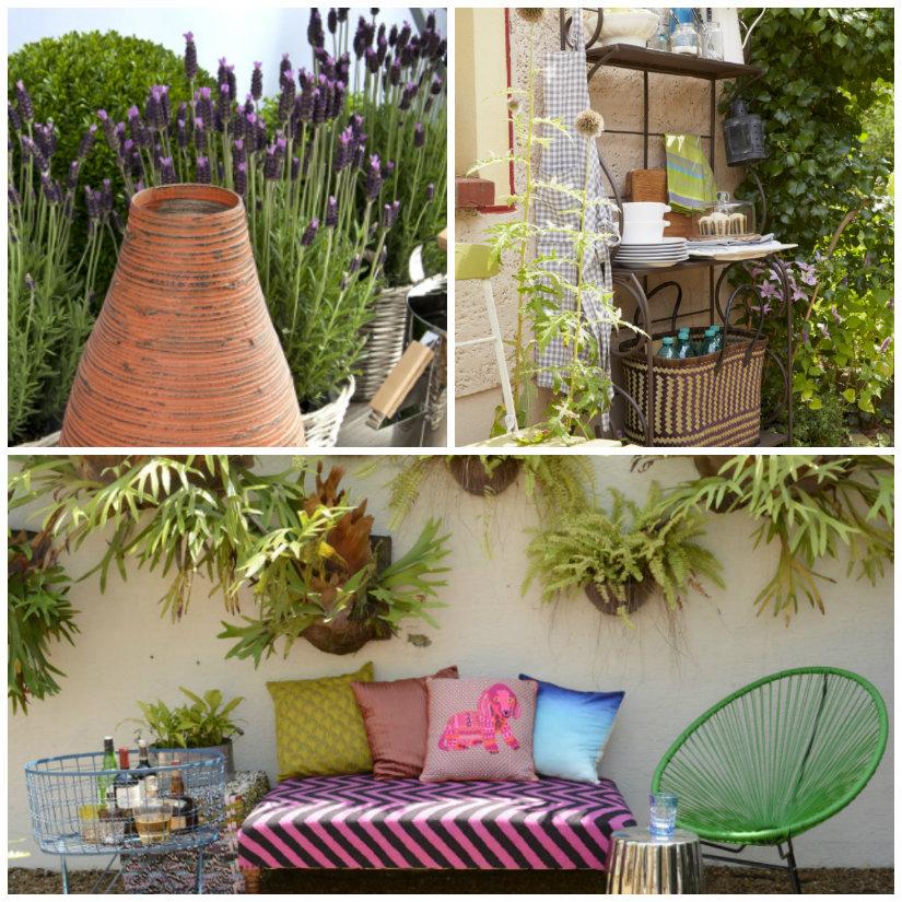 Jardines en terrazas decora con plantas westwing - Plantas para terrazas ...