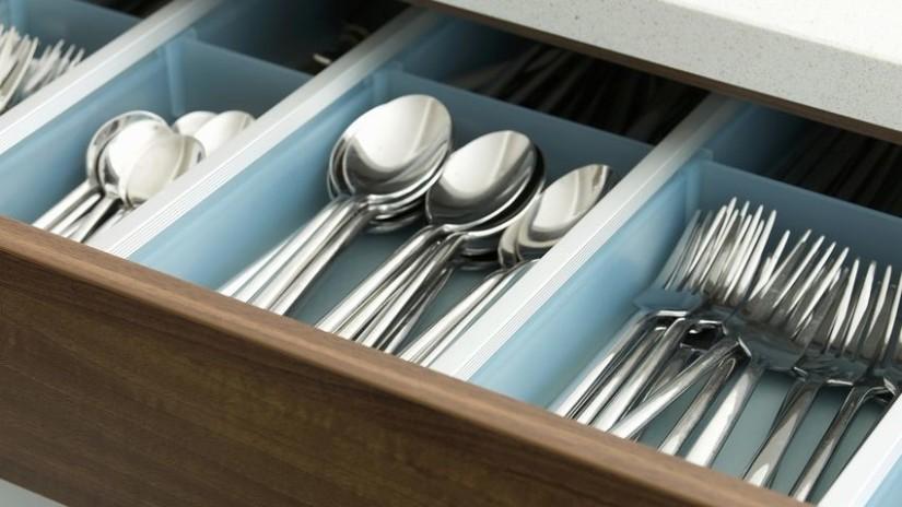 organizador de cubiertos de cocina