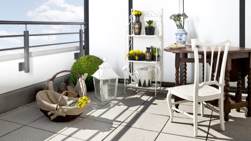 Decoración de terrazas en áticos provenzal