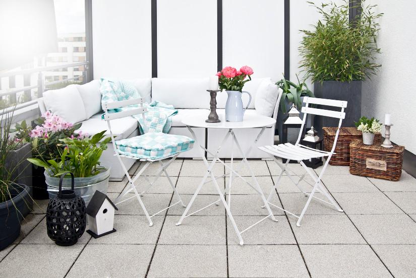 Mesas plegables para terrazas utilidad y estilo westwing - Mesas de terraza ...