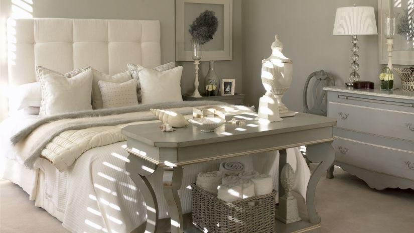 decoración de dormitorio romántico