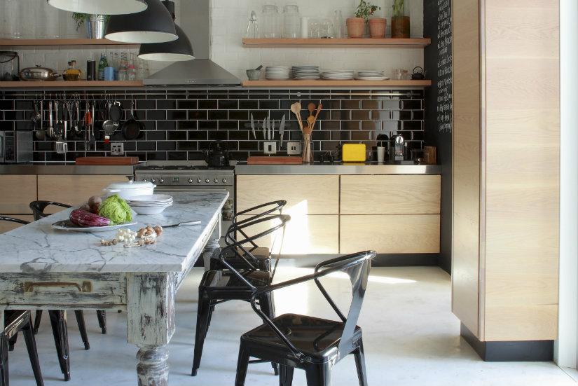 cocinas de lujo luz natural