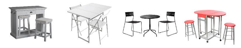 cocinas office mesa y sillas