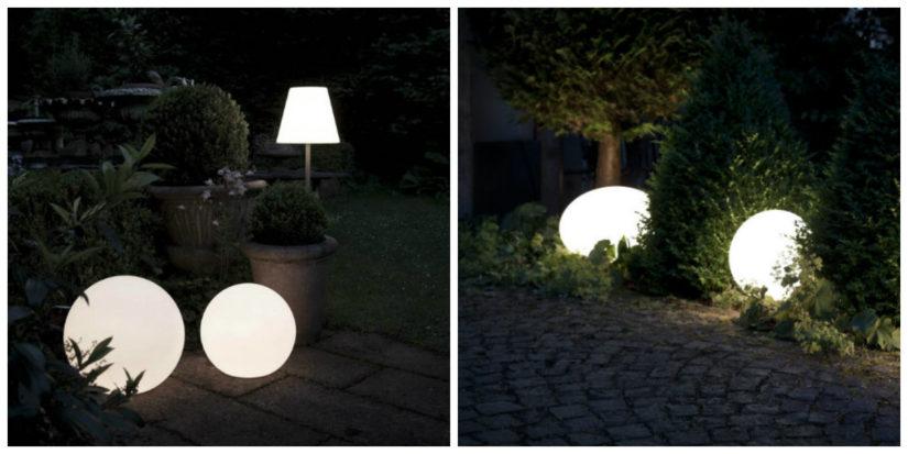 Diseño de terrazas exteriores iluminación