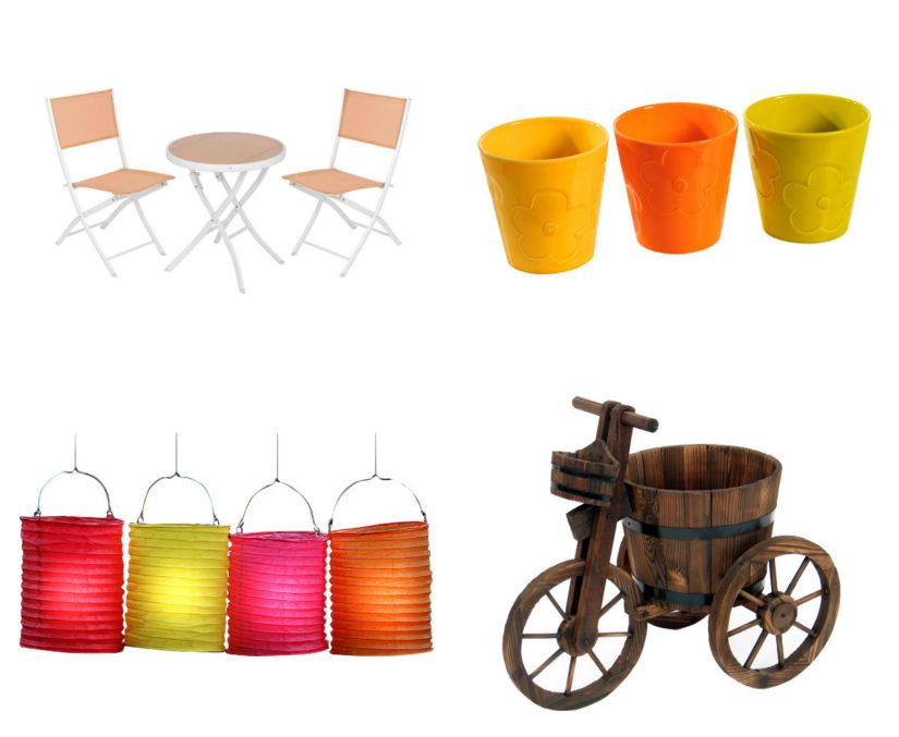 Terrazas de diseño color