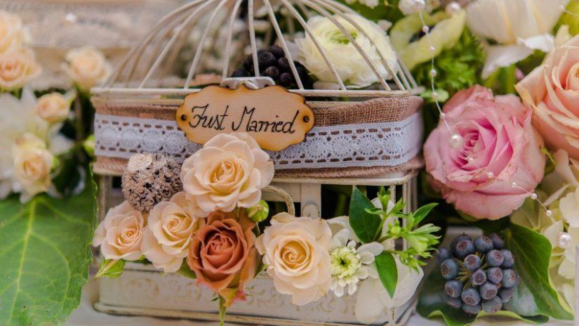 decoración de bodas en verano flores