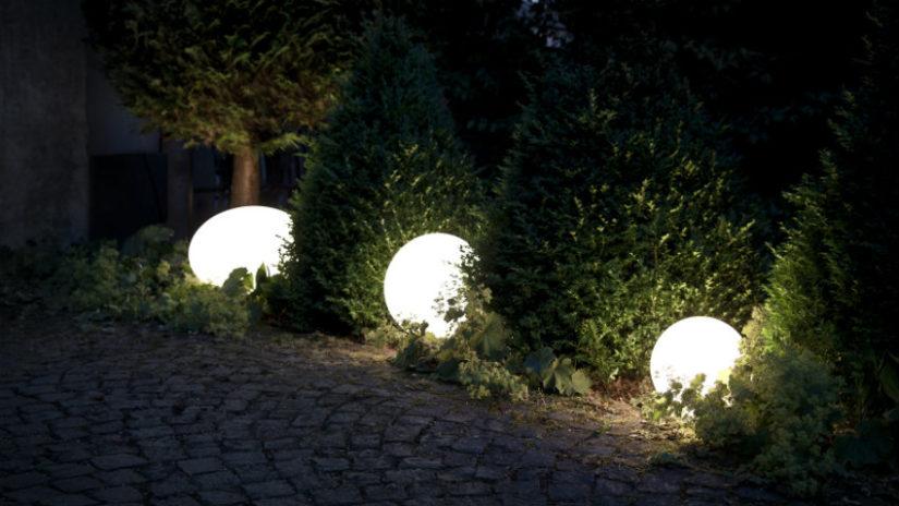 terrazas de diseño iluminación