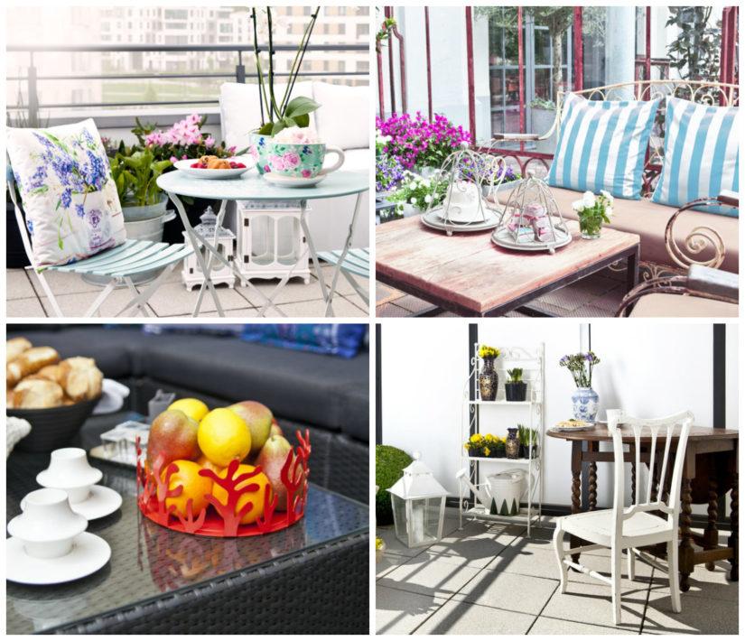 mesas para balcones
