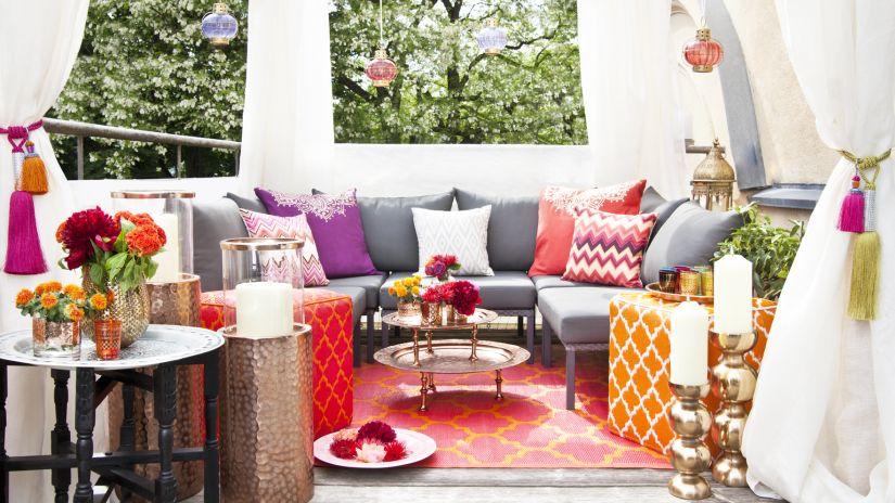 Parasoles para terrazas glamour en tu jard n westwing for Accesorios para terrazas