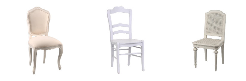 sillas blancas para bodas