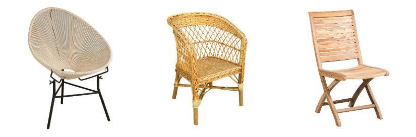 sillas para balcones