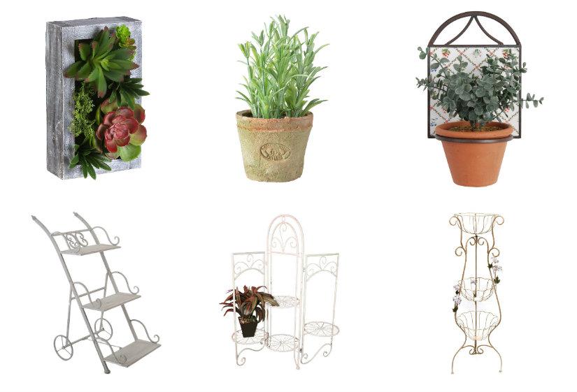 terrazas modernas plantas y soportes