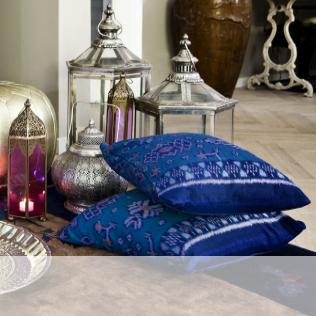 Cojines color y estilo en tu casa westwing - Cojines grandes para suelo ...