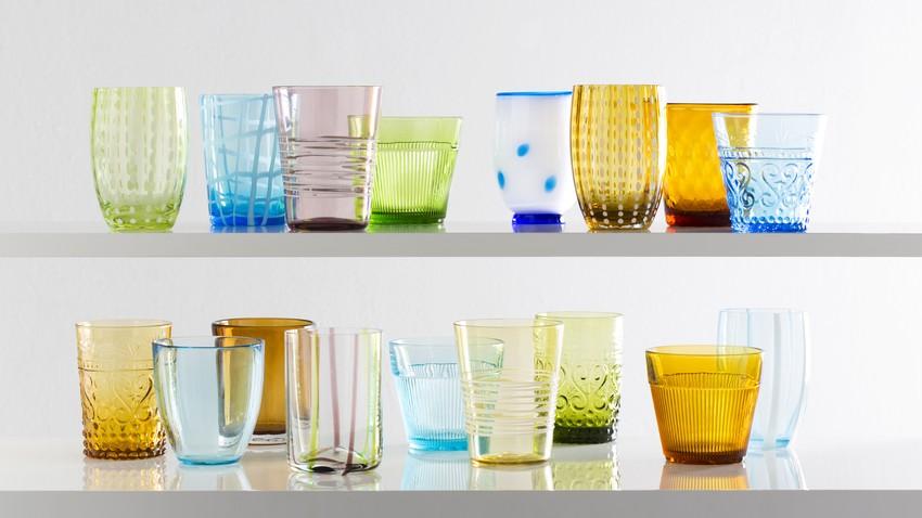 Vasos de colores alegr a y vida para tu mesa westwing for Mesa cristal westwing
