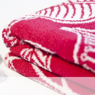 Toallas rojas