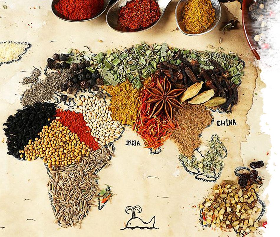 Recetas del mundo: un viaje gastronómico
