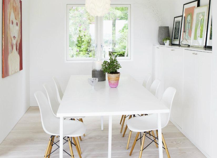 Comedor blanco ideas para tu casa westwing for Comedor vintage blanco