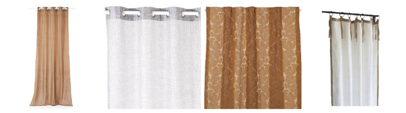 comedores clásicos cortinas