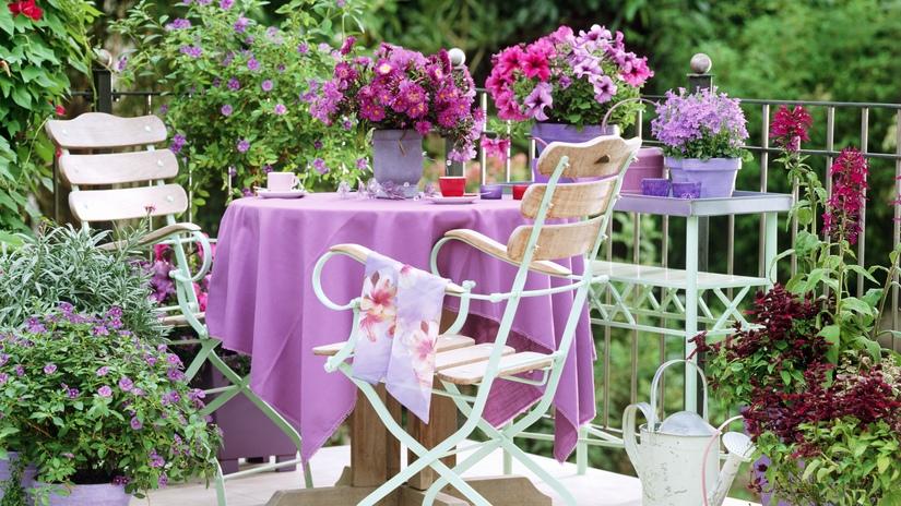 mesa de comedor para jardín
