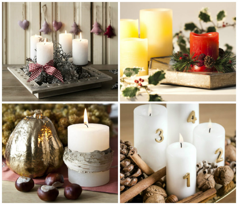 Adornos navideños: corona de navidad DIY