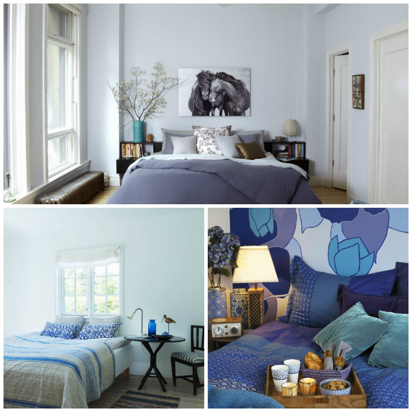 dormitorio azul ideas