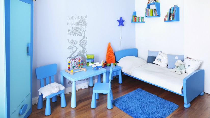 Dormitorio azul un espacio de relajaci n y paz westwing - Dormitorios infantiles tematicos ...