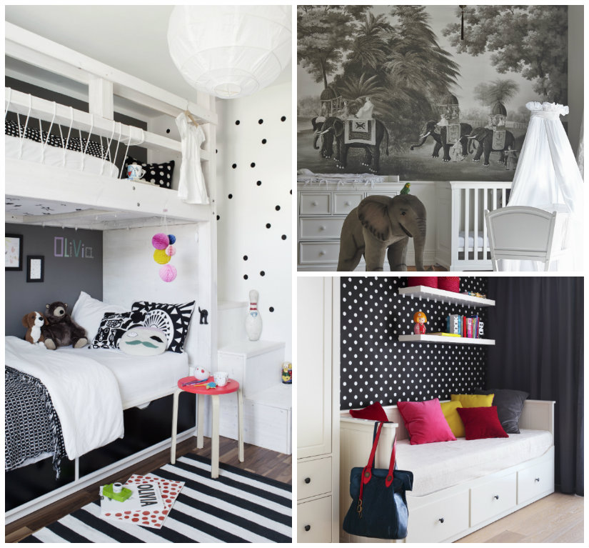 Dormitorio blanco y negro decora con estilo westwing for Dormitorio gris y blanco