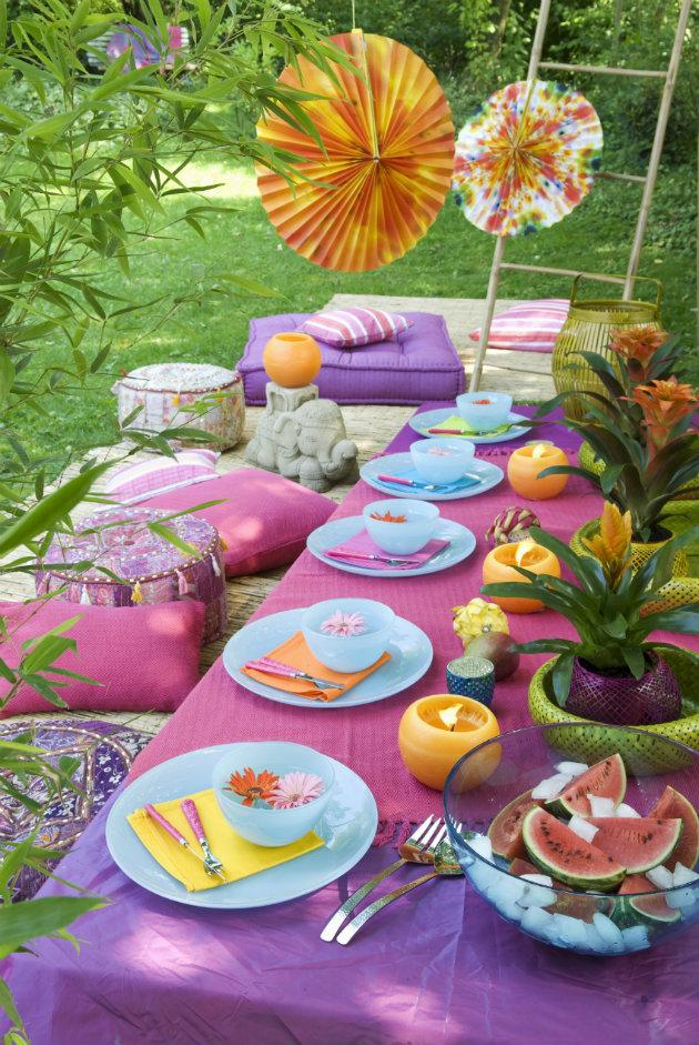 jardín y exteriores mesa fiesta