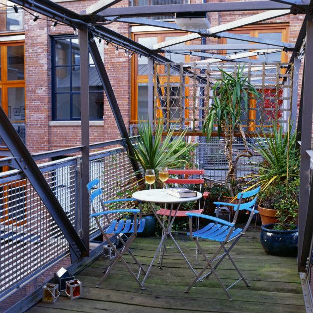 jardín y exteriores terraza decoración