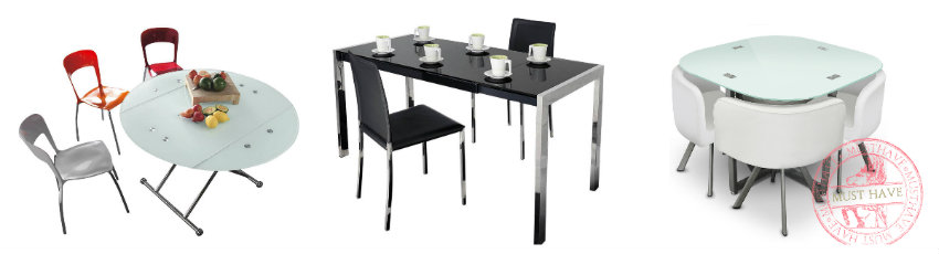 decoración de comedores mesas