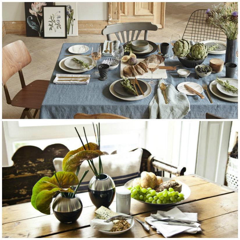 decoración de comedores vestir la mesa