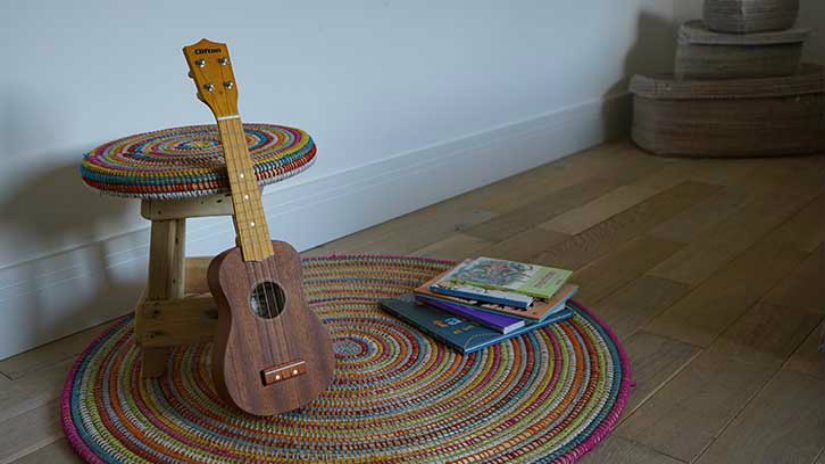 EA Déco Naturel et Design guitarra