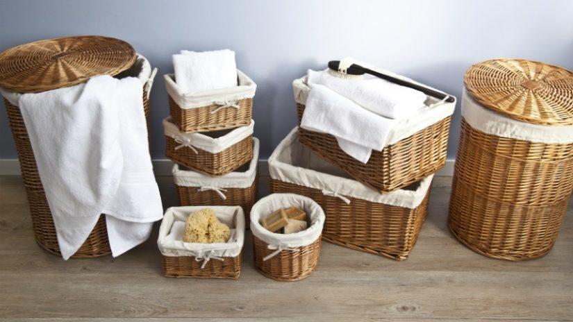 Ideas de almacenaje cestas