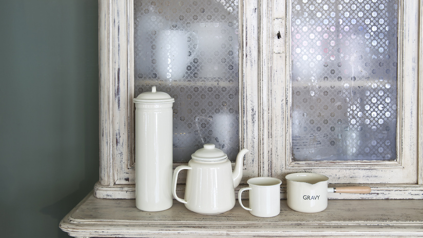 Alacenas antiguas perfectas para tu casa westwing - Mesas de comedor antiguas restauradas ...