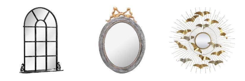 recibidores antiguos espejos