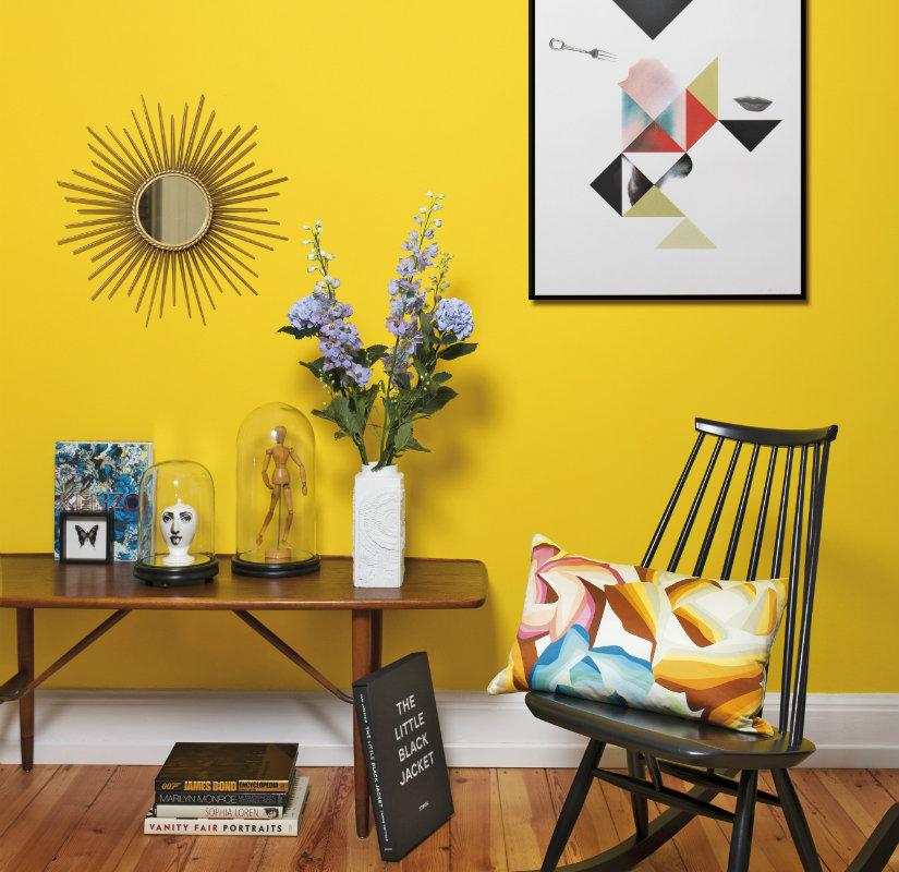 Sal n amarillo un espacio luminoso e inspirador westwing - Decoracion salon amarillo ...