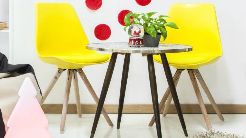 salón amarillo y otros colores