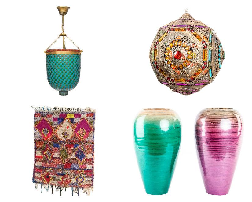 salón marroquí complementos
