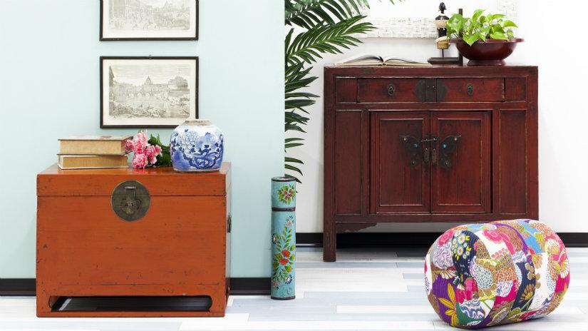 salón turquesa y colores