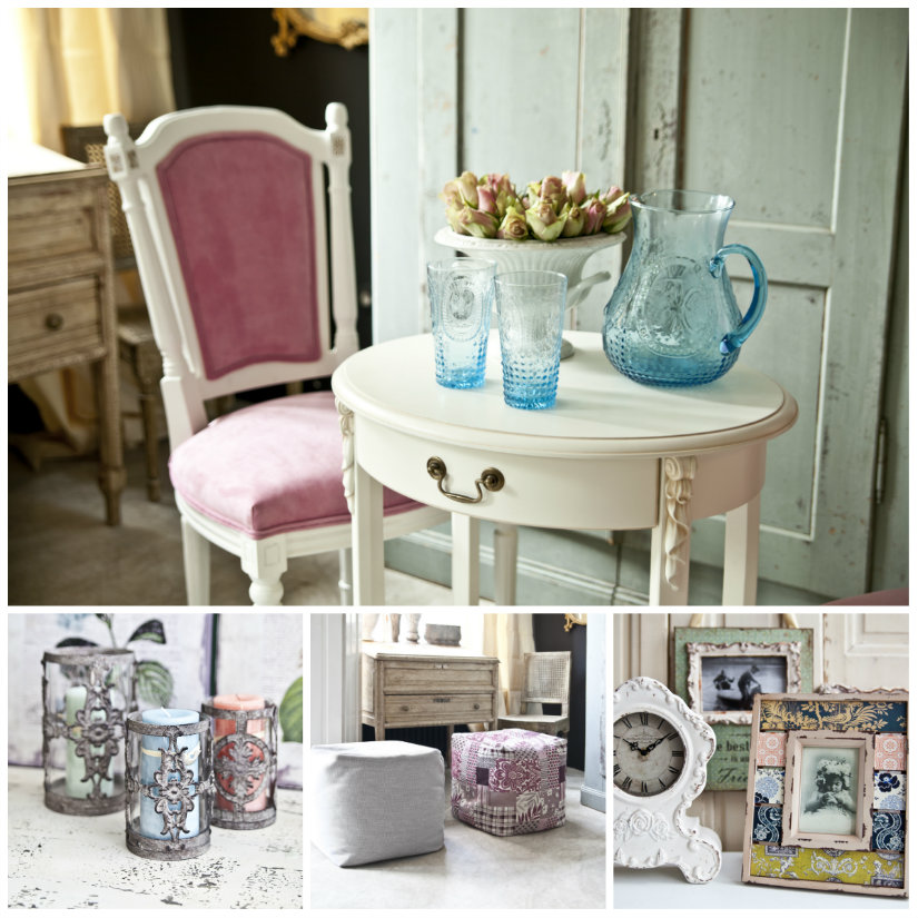 Salones shabby chic cl sicos y muy actuales westwing - Muebles shabby chic online ...