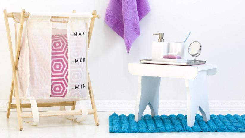 banco para baño o taburete