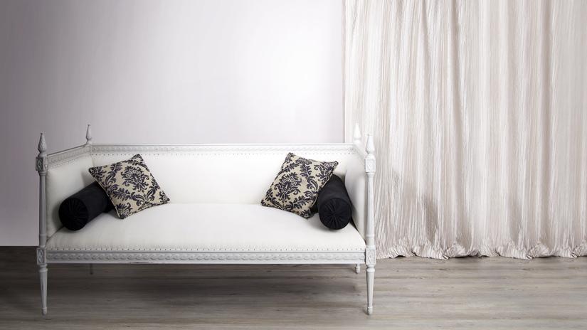 banco romántico para dormitorio