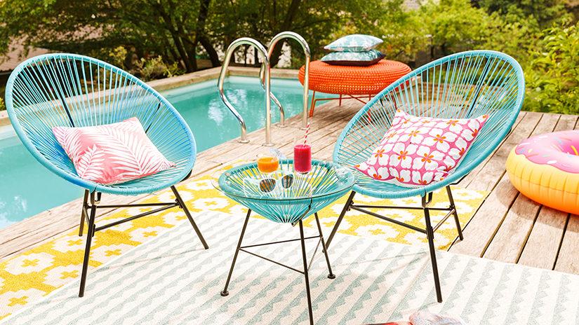 almohadillas, cojines para sillas